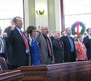 Opening Day of the 128th Maine Legislature